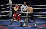 Dawid Michelus walczy w Lubinie 2015 2