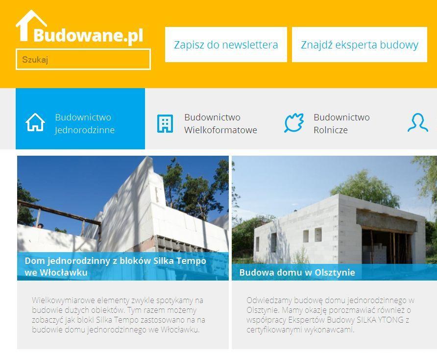Nowe Budowane.pl w sieci