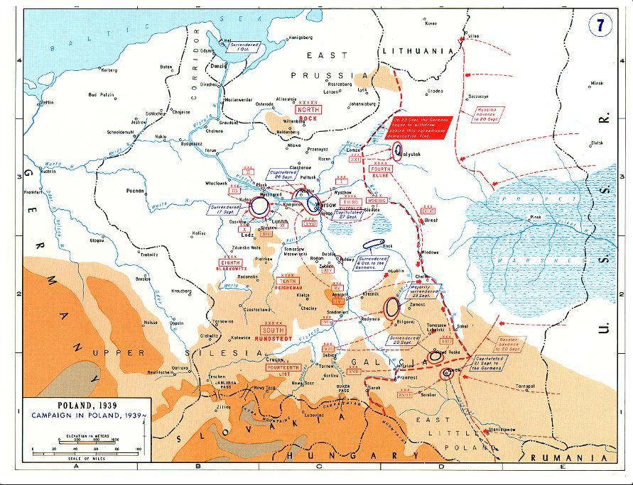 informacje o drugiej wojnie światowej